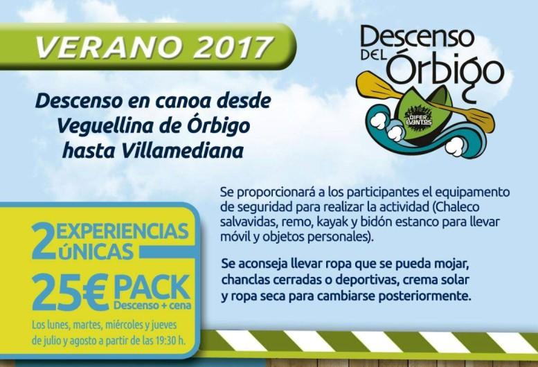 Arranca la 1ª Edición del Descenso del Río Órbigo en Canoa