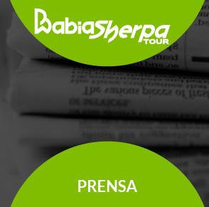 La Babia Sherpa Tour en los medios